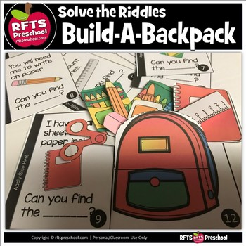 Solve the Riddles Build-a-Backpack