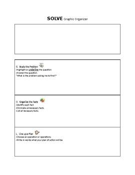 SOLVE graphic organizer
