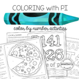 SOLVING CIRCLES coloring activity - FUN for Pi Day