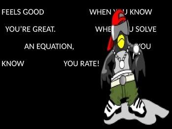 SOLVING EQUATIONS RAP