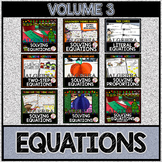 SOLVING EQUATIONS Volume 3