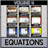 SOLVING EQUATIONS Volume 4