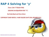 SOLVING FOR Y SONG