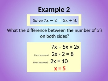 SOLVING LINEAR EQUATIONS AND EQUATIONS WITH BRACKETS