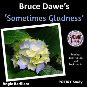 SOMETIMES GLADNESS- BRUCE DAWE - WORKSHEETS
