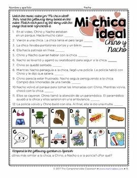 SOMOS 2 Unit 10: El chico ideal - ER/IR Imperfect verbs #SOMOS2