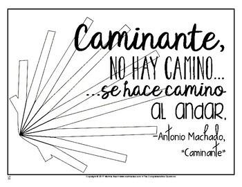 SOMOS Spanish 1 Unit 23: El Camino de Santiago / La mamá vigilante