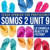 SOMOS Spanish 2 Unit 9 (-ar imperfect): La chancla