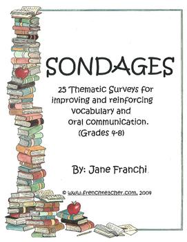 SONDAGES!  Gr. 4-8
