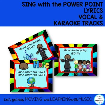 Martin luther king jr song and literacy actitivities with mp3 tracks martin luther king jr song and literacy actitivities with mp3 tracks stopboris Images