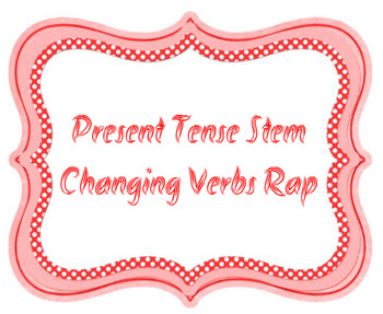 SONG (RAP) - Stem Changing Verbs Present Tense Spanish