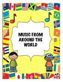 SONGS AROUND THE WORLD!