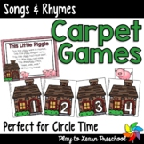 SONGS & RHYMES Carpet Games
