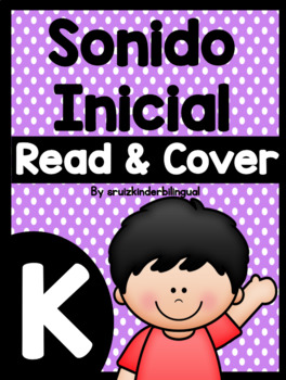 SONIDO INICIAL READ & COVER KINDERGARTEN