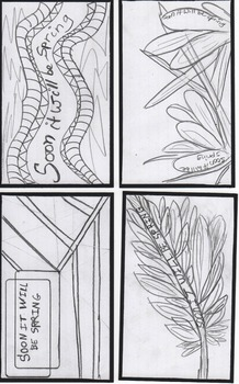 SOON IT WILL BE SPRING - Index Cards for coloring and writing on the back.