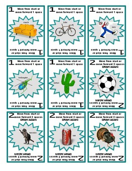 SPEECH THERAPY SORRY! ARTICULATION Game Cards BUNDLE I for /SH/, /CH/, /L/ & /K/