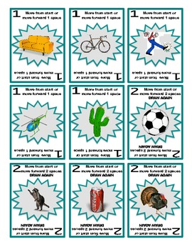 SPEECH THERAPY SORRY! Game Cards for /K/ SOUND PRACTICE