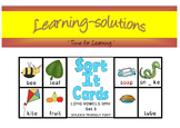 SORT IT CARDS - Set 3A - Long Vowels - Phonemic discrimina
