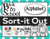 SORT IT OUT ALPHABET (BACK TO SCHOOL)