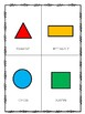 SORT SHAPES BY COLOR OR SIZE