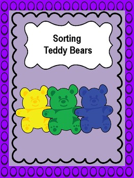 SORT TEDDY BEARS