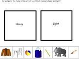 SORT heavy and light picture sort