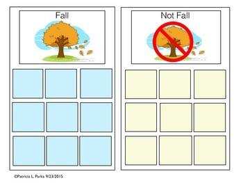 SORTING FALL--NOT FALL
