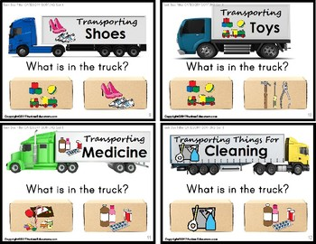 """SORTING by Category HIGH INTEREST TASK CARDS """"Task Box Filler"""" for Autism"""