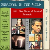 SOS:  Teens Surviving in the Wild Research Project - Man v