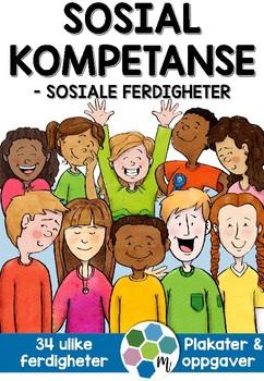SOSIAL KOMPETANSE - konkret arbeid med sosiale ferdigheter  [BM & NN]