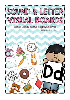 SOUND AND LETTER VISUAL BOARDS