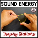 SOUND ENERGY STATIONS for Upper Elementary Science Inquiry