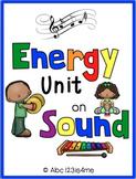 SOUND UNIT {Vocab. cards, Lesson plans, Resources to supplement, Unit test, etc}