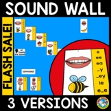 SCIENCE OF READING SOUND WALL WITH MOUTH PICTURES FOR KIND