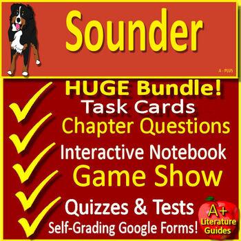 Sounder Google Novel Study Unit Use With OR Without Digital Google Drive