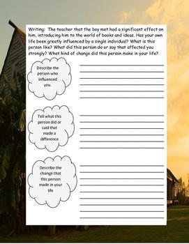 SOUNDER ELA Novel Study Guide Teaching Unit COMPLETE