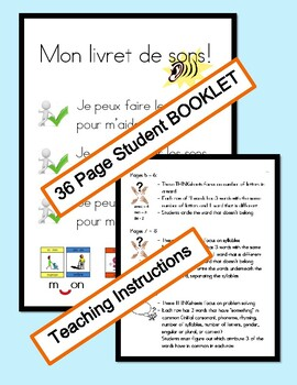 SOUNDING OUT FRENCH  - Thinking and Problem Solving Embedded in 36 page Booklet