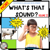 SOUNDS VOCABULARY BOOK Pre-K  Circle whole group speech-la