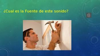 SOUNDS - What is this sound? - Spanish
