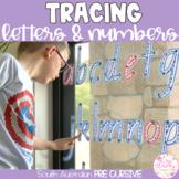 SOUTH AUSTRALIAN PRE-CURSIVE Write & Wipe Alphabet and Numbers Set