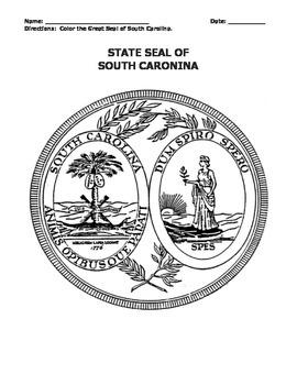 SOUTH CAROLINA FACTS UNIT (GRADES 3 - 5)