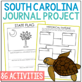 SOUTH CAROLINA History Project, Differentiated State Research Journal {EDITABLE}