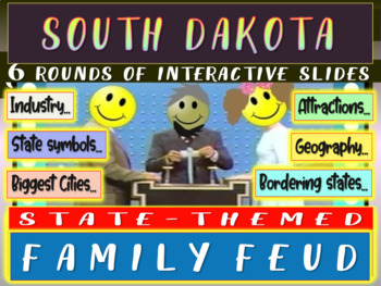 SOUTH DAKOTA FAMILY FEUD! Engaging game about cities, geog