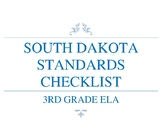 SOUTH DAKOTA STANDARDS CHECKLIST-3RD GRADE