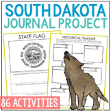 SOUTH DAKOTA History Project, Differentiated State Research Journal {EDITABLE}