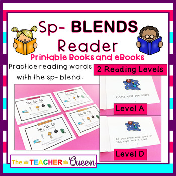 SP- Blend Readers Levels A and D (Printable and Projectable Books)