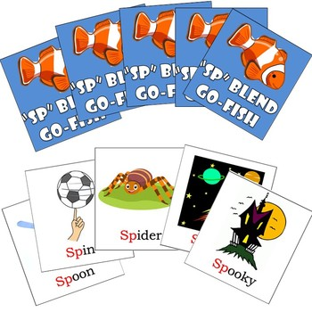 SP Blends Articulation Go-Fish Cards