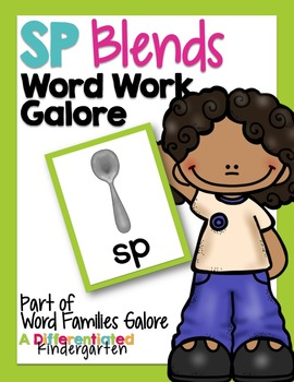 SP Blends Word Work Galore-Differentiated and Aligned Acti