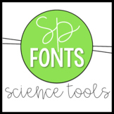 Science Tools Doodle Font