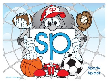 SP (Sporty Spider) Blend Buddy Poster